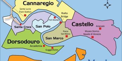 Venecia Harta Harta Te Venecias Itali